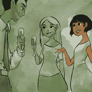 """HAPPY HOURS: de acordo com o psicoterapeuta Leo Fraiman, é importante ter convívio social com colegas de trabalho, desde que o dia do happy hour não se torne o mais importante da semana. """"Com moderação, faz parte da vida de todo mundo"""".  Segundo Oswaldo M. Rodrigues Jr., psicólogo do Inpasex (Instituto Paulista de Sexualidade), não é saudável para a relação tratar qualquer tipo de situação como competição. """"Pensar assim é não compreender que ambos têm direito a individualidade e a momentos de descontração"""" - Leh Latte/UOL"""