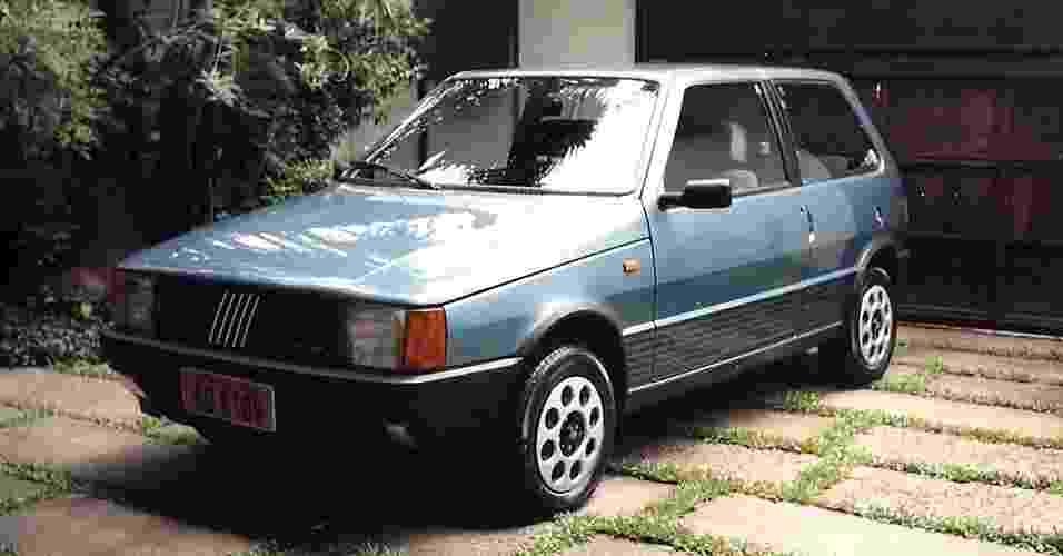 Fiat Uno 1.5 R 1987 de Eduardo Monteiro (Valinhos, SP) - Arquivo pessoal