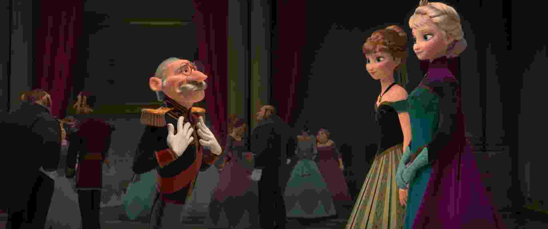 """Cena da animação """"Frozen"""" - Divulgação"""