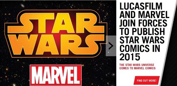 Marvel e Star Wars anunciam HQ da série para 2015 - Reprodução/Marvel