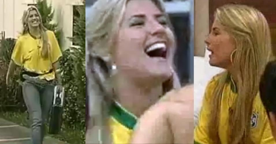 """A sister Íris Stefanelli participou da edição do """"Gran Hermano 4"""", na Argentina"""
