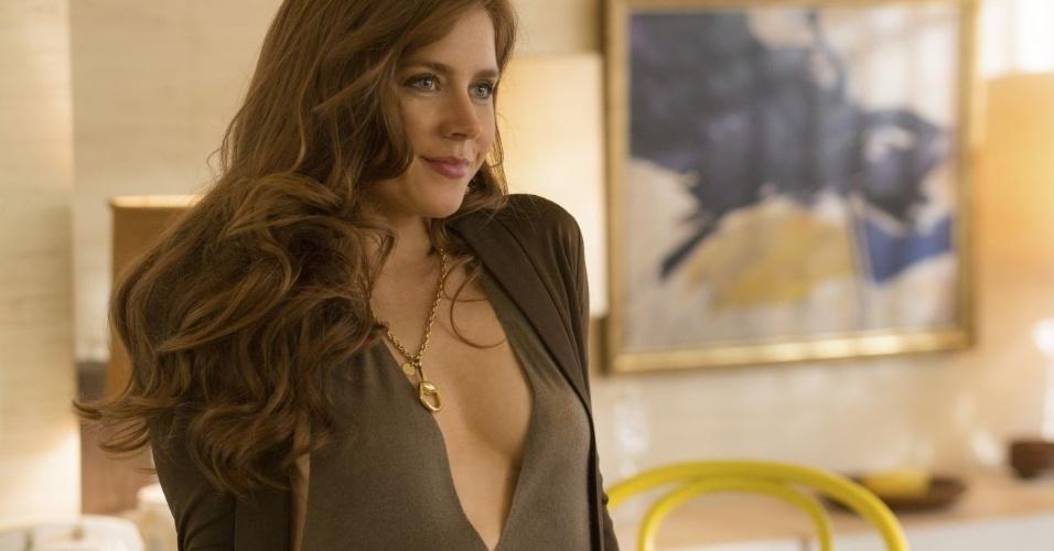 """Amy Adams em cena de """"Trapaça"""""""