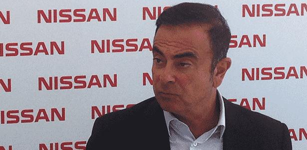 Carlos Ghosn, presidente do grupos Renault-Nissan, participa de anúncio de nova fábrica no Brasil, em Resende (RJ) - 6.1.2014 - André Deliberato/UOL - André Deliberato/UOL