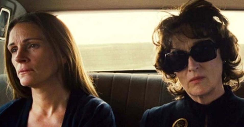 """Julia Roberts em cena de """"Álbum de Família"""""""