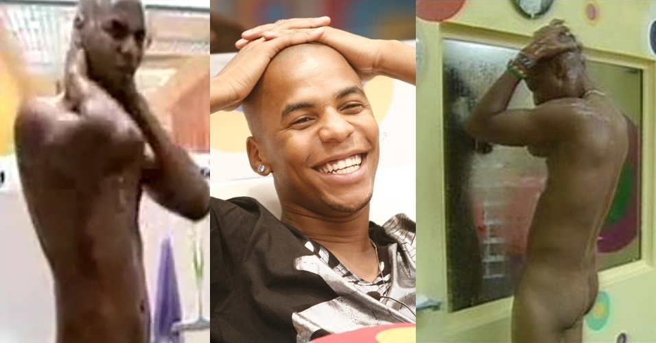 """O angolano Ricardo """"Ricco"""" Venâncio participou do BBB 9 e tomou banho pelado"""