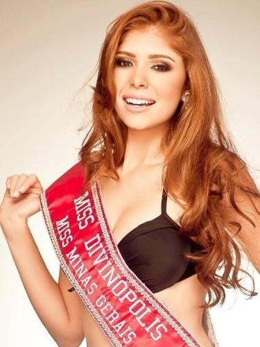 """A mineira Amanda Gontijo, participante do """"BBB 14"""", é modelo e foi Miss Divinópolis 2012. Aos 23 anos, ela estuda Engenharia Civil e trabalha na prefeitura de Divinópolis."""