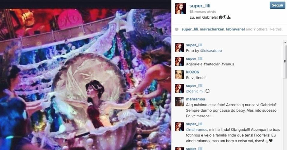 """Aline Moraes Dahlen Ganthz é atriz e usa o nome artístico de Liz Moraes. Ela atuou no remake da novela """"Gabriela"""" como uma das dançarinas do cabaré Bataclã. A sister também atuou em outras produções da Globo, como """"Cobras e Lagartos"""", """"Pé na Jaca"""" e """"Tempos Modernos"""""""