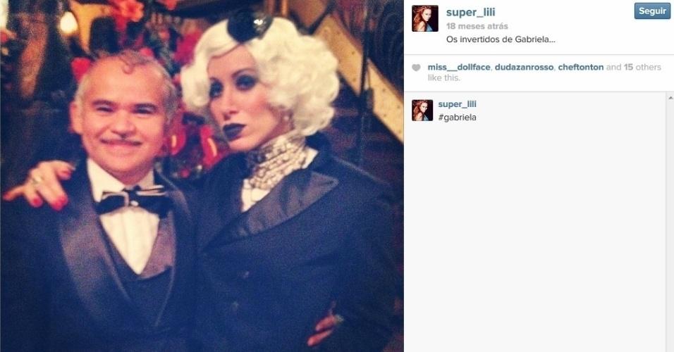 """Aline Moraes Dahlen Ganthz é atriz e usa o nome artístico de Liz Moraes. Ela atuou no remake da novela """"Gabriela"""" como uma das dançarinas do cabaré Bataclã. No seu Instagram, ela compartilhou uma fotos dos bastidores da trama ao lado do ator Gero Camilo. A sister também atuou em outras produções da Globo, como """"Cobras e Lagartos"""", """"Pé na Jaca"""" e """"Tempos Modernos"""""""