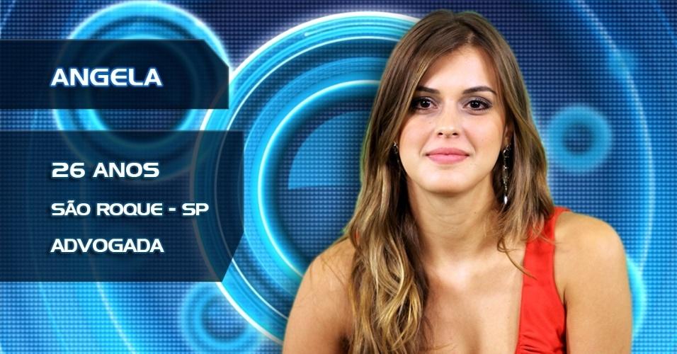 Angela, 26 anos, São Roque, advogada