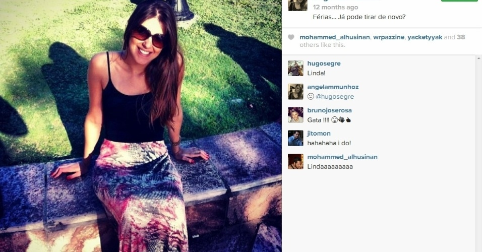 Angela Munhoz é advogada criminalista e também já fez alguns trabalhos como modelo. Ela é de São Roque, São Paulo