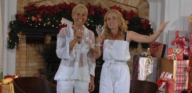 """Xuxa e Angélica no programa """"Estrelas"""""""