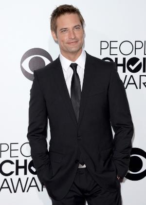 "8.jan.2014 - O ator de ""Lost"" Josh Holloway"