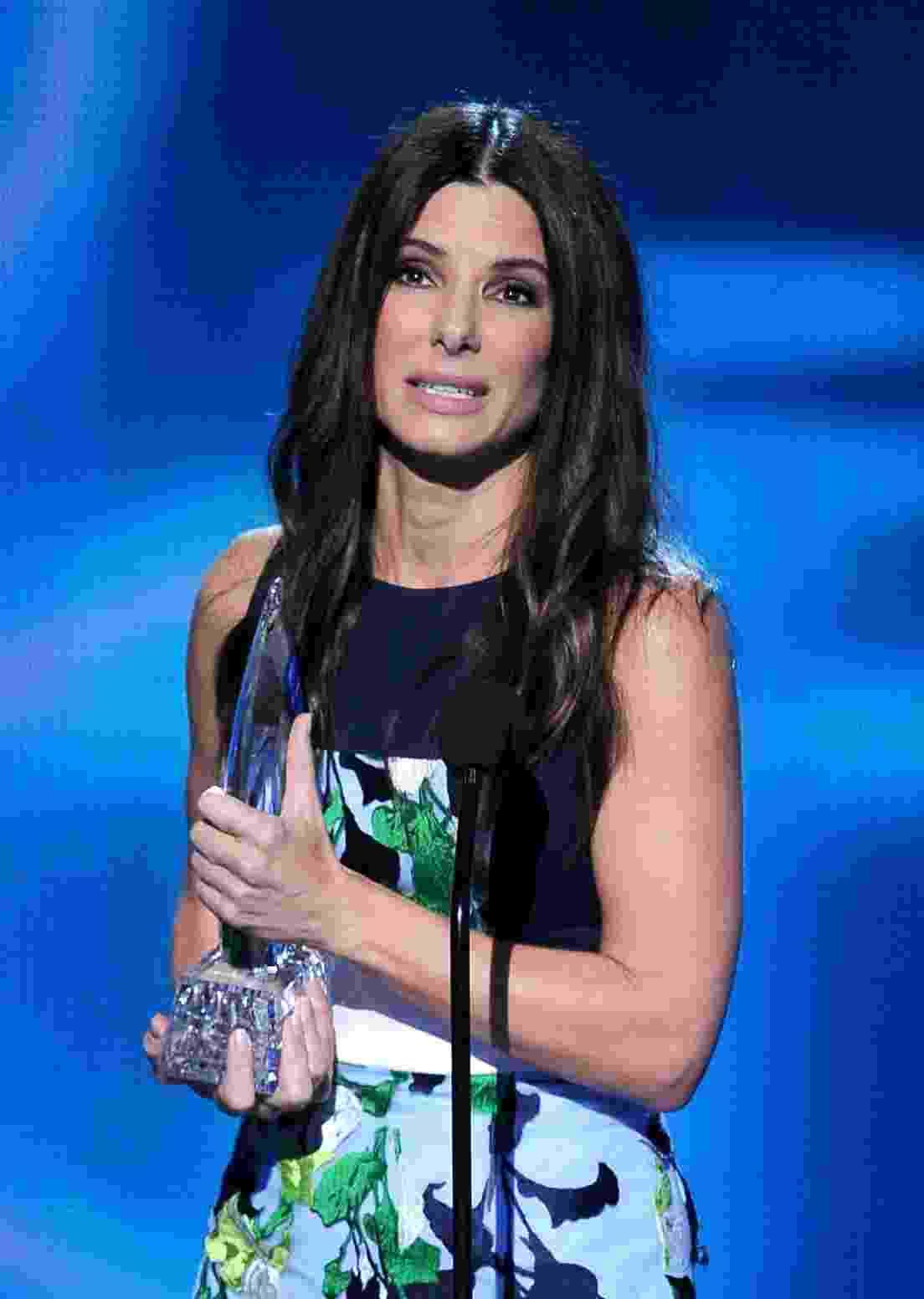 """8.jan.2014 - Sandra Bullock venceu na categoria Melhor Atriz pelo filme """"Gravidade"""" - Getty Images"""