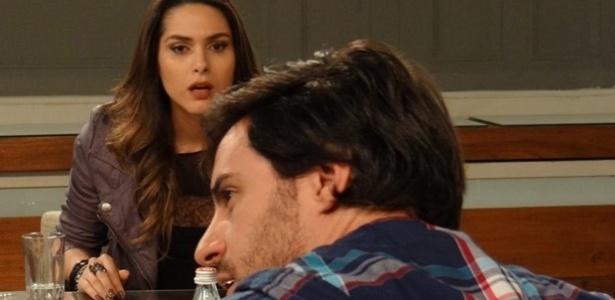 """Em """"Amor à Vida"""", Thales passa a perna em Leila e abre mão da herança de Nicole"""