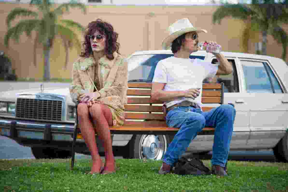 "Jared Leto e Matthew McConaughey em ""Dallas Buyers Club"" - Anne Marie Fox/Focus Features"