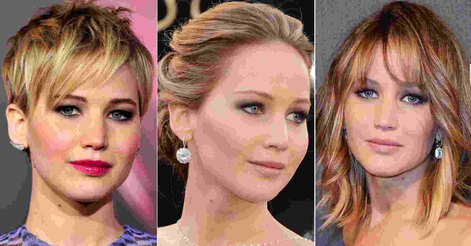 Jennifer Lawrence - Getty Images/Montagem/UOL