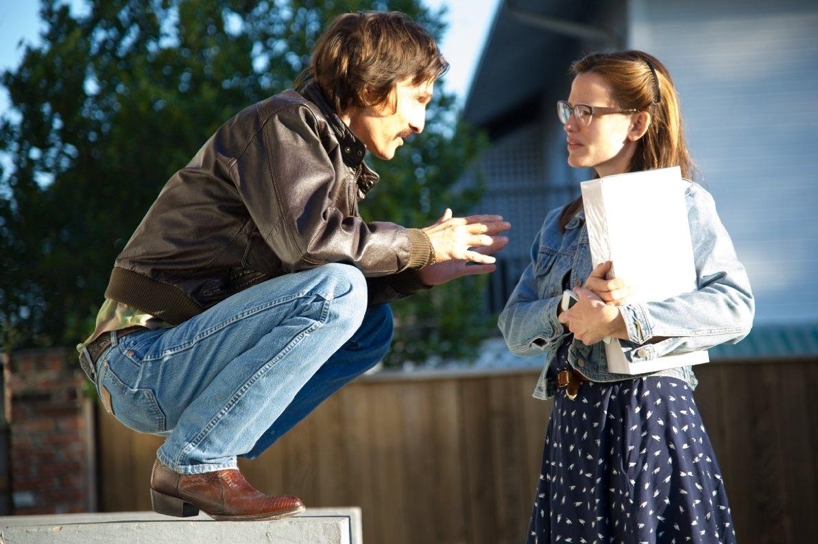 Matthew McConaughey e Jennifer Garner em