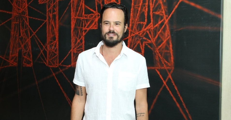 "10.jan.2014 - Paulo Vilhena na coletiva de imprensa da minissérie ""A Teia"""