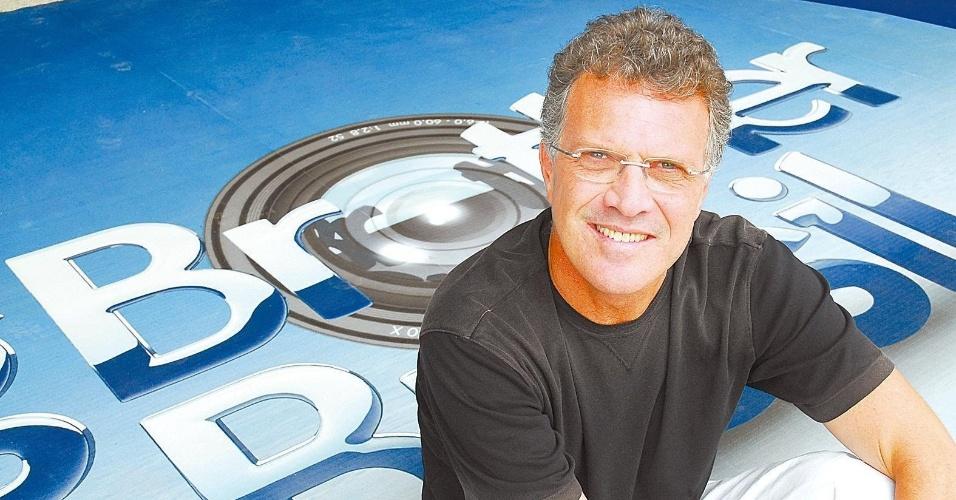 """2007 - O jornalista Pedro Bial, apresentador do """"Big Brother Brasil"""""""