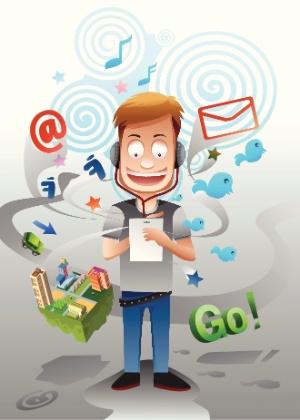Ao visitar o perfil dos filhos nas redes sociais, você pode saber mais sobre seus gostos e opiniões - Getty Images