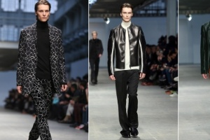 0d4cc16771b Grifes italianas de luxo desfilam novidades para os homens no Inverno 2014.  6   70EFE EPA Antonio Calanni