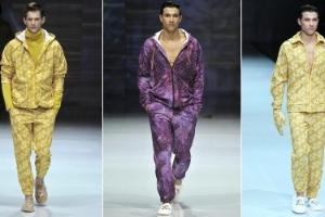 e0f1748c350 Grifes italianas de luxo desfilam novidades para os homens no Inverno 2014