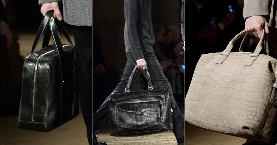 18ed72fd94bbc Fotos  Grifes italianas de luxo desfilam novidades para os homens no ...