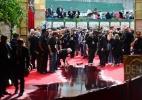 Alagamento do Globo de Ouro vira piada entre as estrelas no tapete vermelho - Frederic J. Brown/AFP