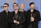 """U2 vence melhor canção no Globo de Ouro por """"Mandela"""" - Getty Images"""