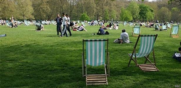 Morar em um local com áreas verdes gera um efeito positivo duradouro - Arquivo/BBC