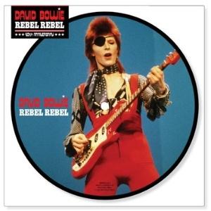 """Capa do single de """"Rebel Rebel"""", de David Bowie, que será relançado em versão """"picture disc"""" - Reprodução"""