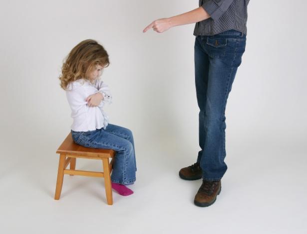 """Sem explicar a razão do castigo, """"cantinho"""" pode virar punição banal para a criança - Getty Images"""