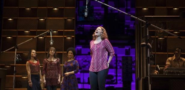 "Cena do musical ""Beautiful - The Carole King Musical"" - REUTERS/Carlo Allegri"