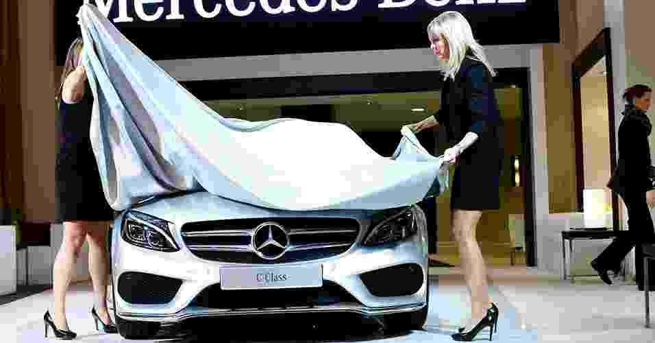 Mercedes-Benz Classe C 2015 - Joshua Lott/Reuters