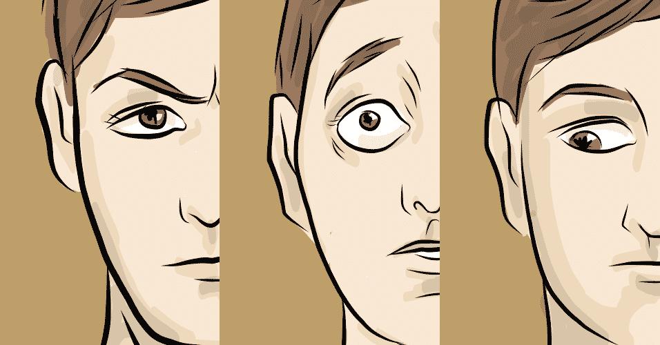 olhar e significados - Jeff/UOL