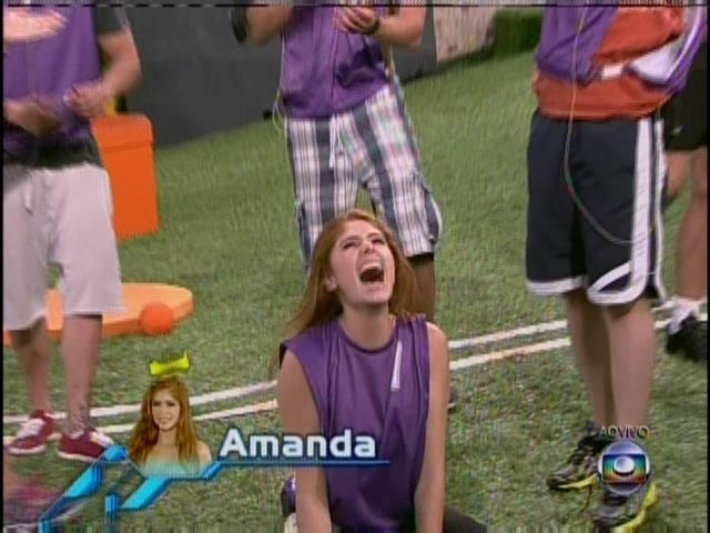 """Amanda vence a primeira prova do líder do """"BBB14"""""""