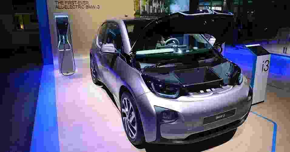 BMW i3 no Salão de Detroit 2014 - Eugênio Augusto Brito/UOL