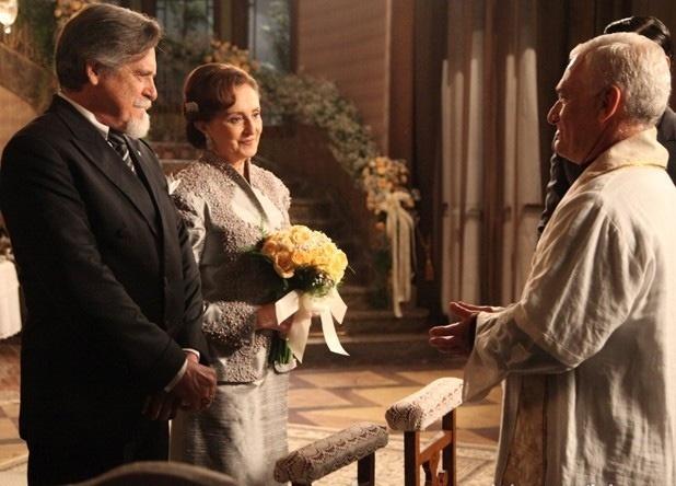 Ernest e Gertrude se casam