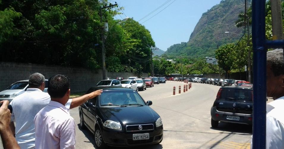 Participantes do BBB chegam ao Projac