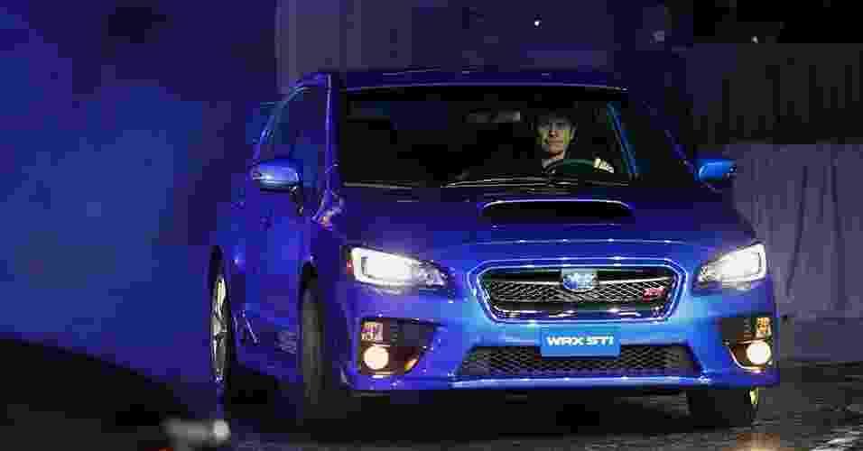 Subaru WRX STi 2015 - Joshua Lott/Reuters