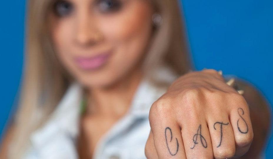 Vanessa tem seis tatuagens