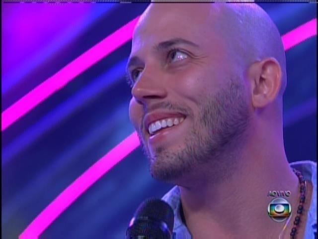 João Almeida após sua eliminação.