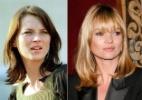 Nos 40 anos de Kate Moss, veja 10 mudanças de cabelo da modelo - Getty Images/ Grosby Group/ Montagem UOL