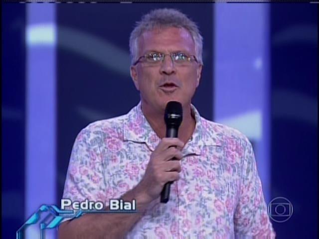 Pedro Bial dá início à noite da primeira eliminação do BBB14