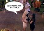 Valdirene ainda rende - Reprodução/TV Globo