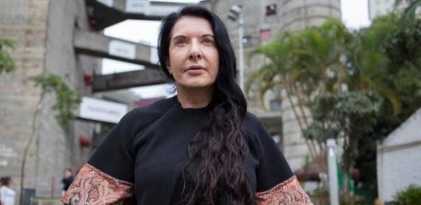 Sesc Pompeia divulga imagem de Marina Abramovic visita técnica. Exposição da artista acontecerá em 2015 - Reprodução/Sesc
