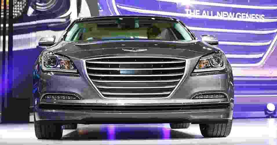 Hyundai Genesis 2015 - Joshua Lott/Reuters