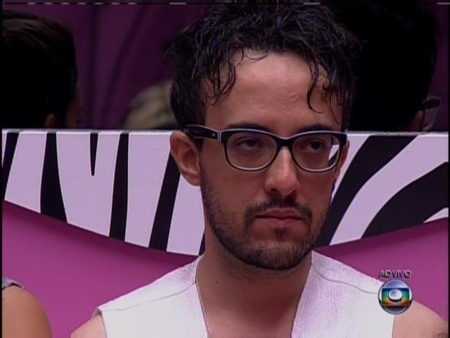 "18.jan.2014 - Alisson está no segundo paredão do ""BBB14"""