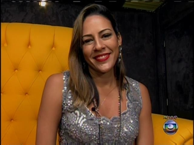 18.jan.2014 - Princy está no do BBB14