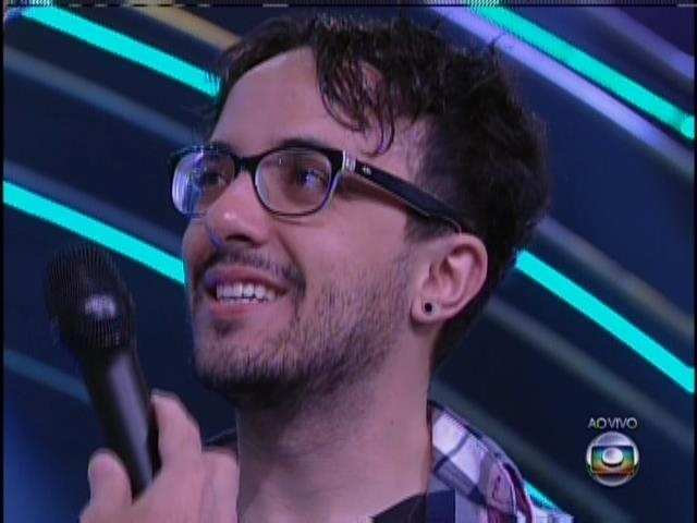 19.jan.2014 - Alisson é o segundo eliminado do BBB14